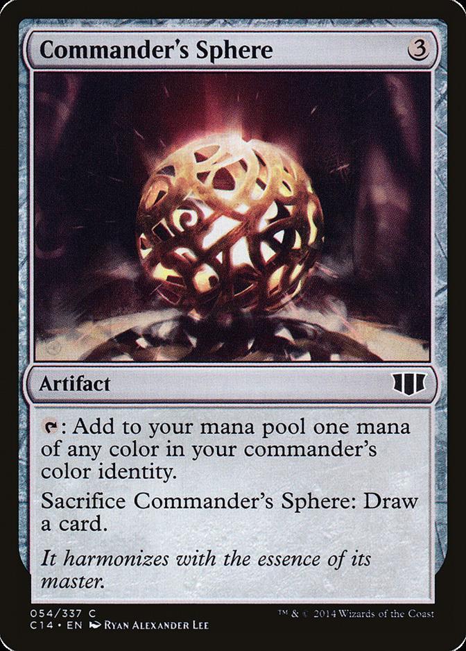Commander's Sphere [C14] (F)