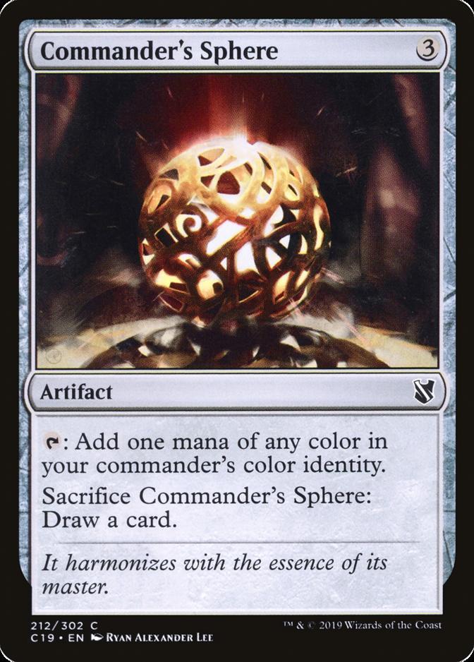 Commander's Sphere [C19]