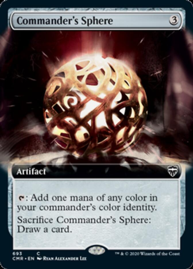 Commander's Sphere <extended> [CMR] (F)