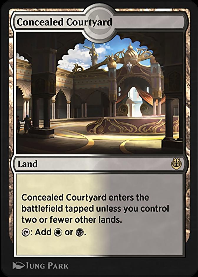 Concealed Courtyard [KLR]