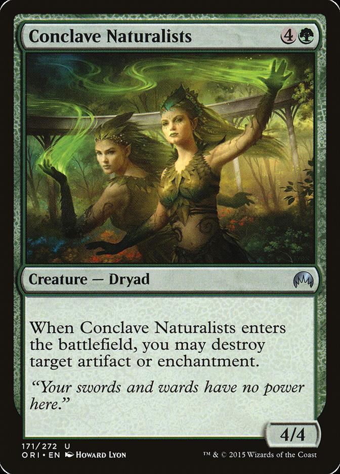 Conclave Naturalists [ORI] (F)