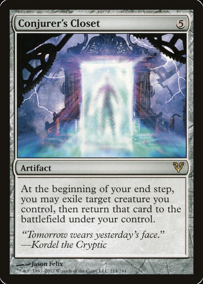 Conjurer's Closet [AVR]