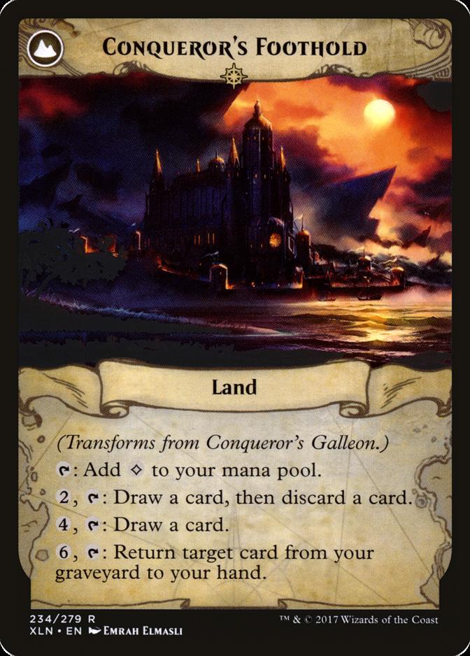 Conqueror's Foothold [XLN]