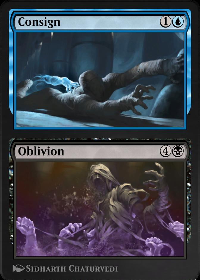 Consign // Oblivion [AKR]