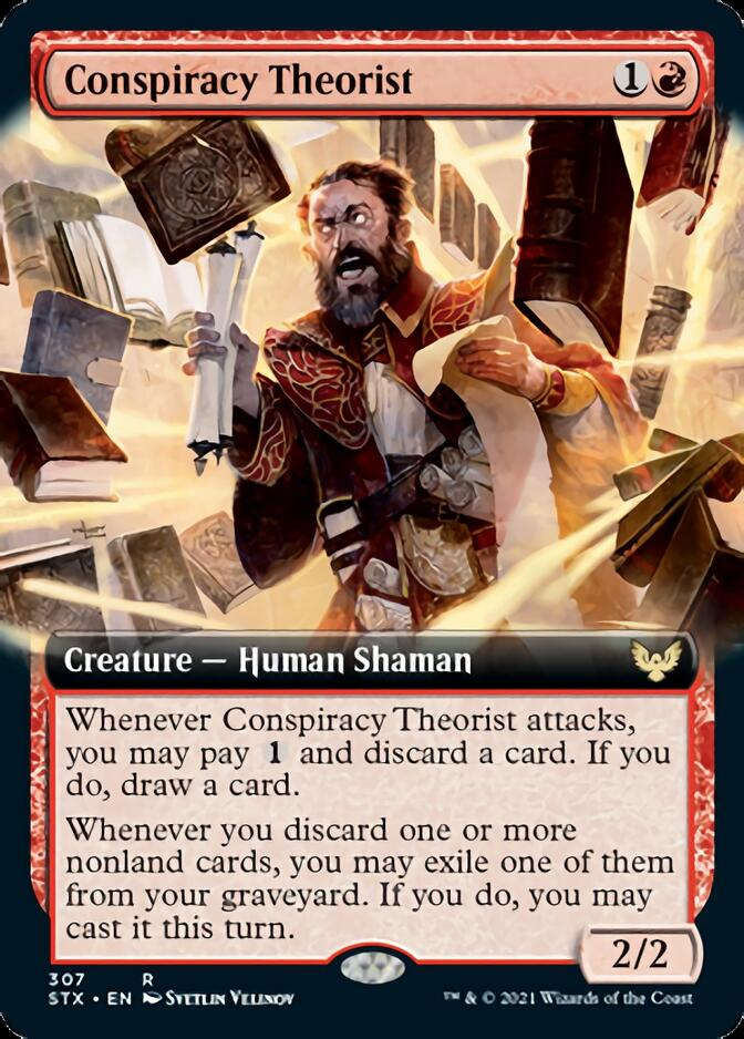 Conspiracy Theorist <extended> [STX]