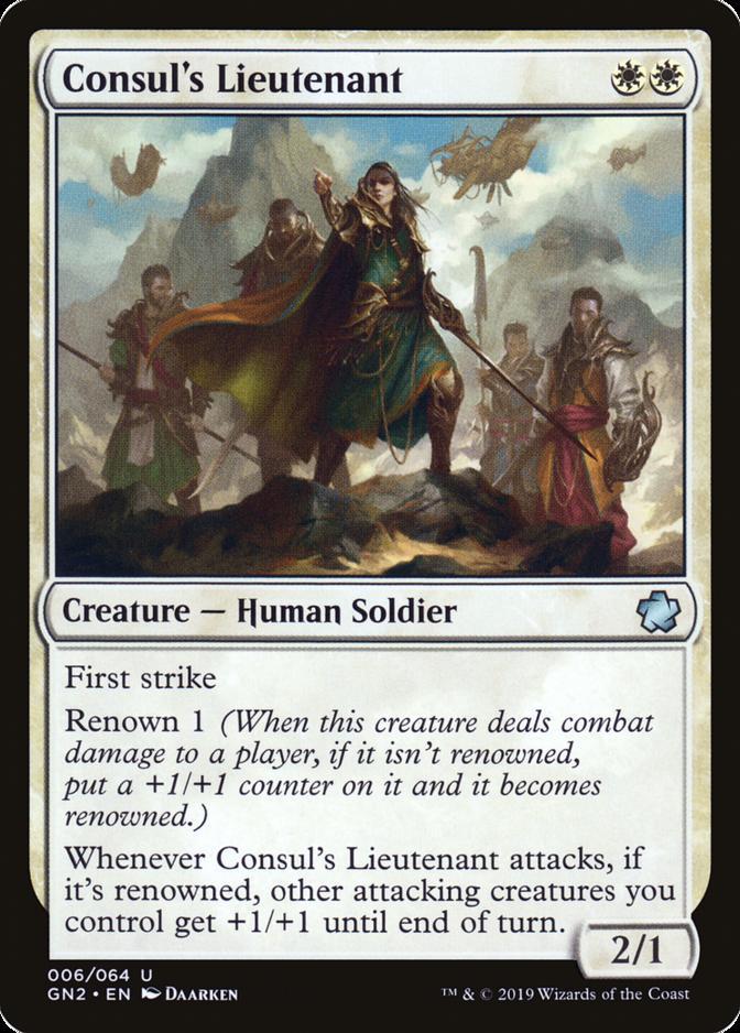 Consul's Lieutenant [GN2] (F)