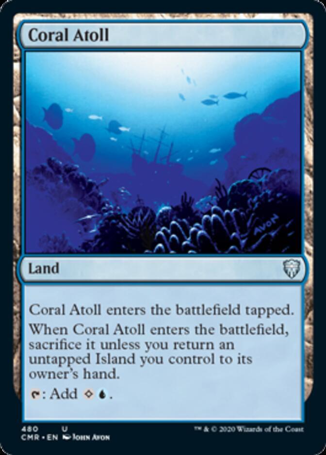 Coral Atoll <precon> [CMR]