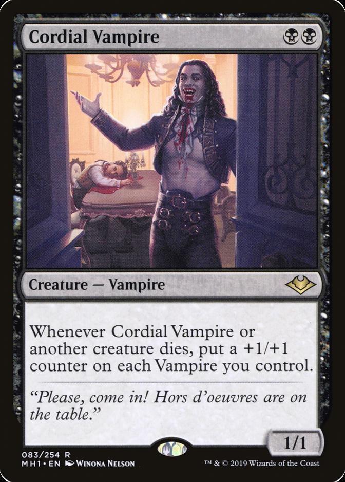 Cordial Vampire [MH1]