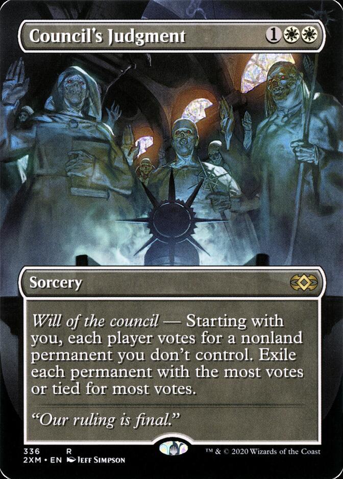 Council's Judgment [P2XM]