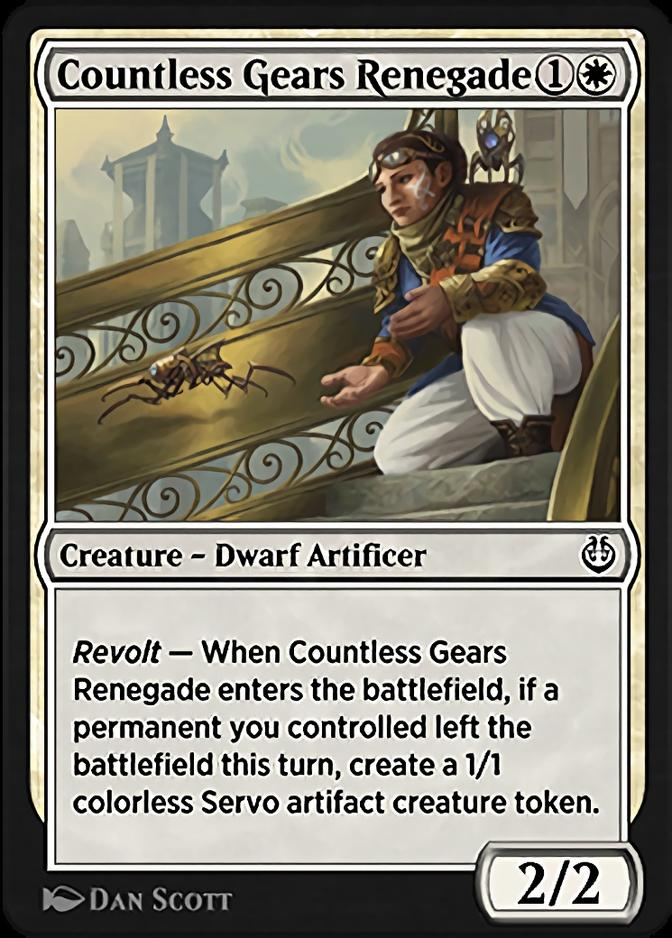 Countless Gears Renegade [KLR]