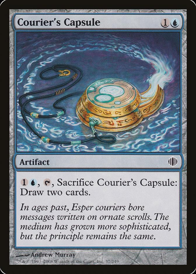 Courier's Capsule [ALA]