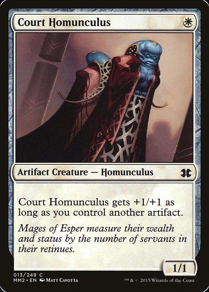 Court Homunculus [MM2]