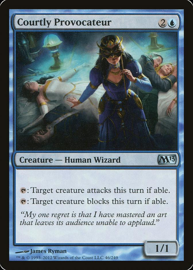 Courtly Provocateur [M13] (F)