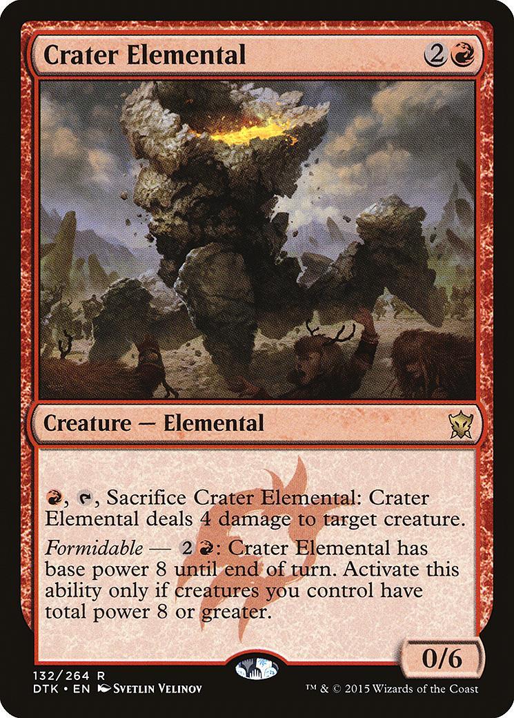 Crater Elemental [DTK]