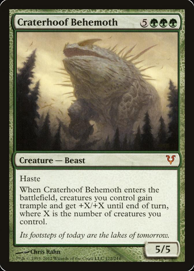 Craterhoof Behemoth [AVR]