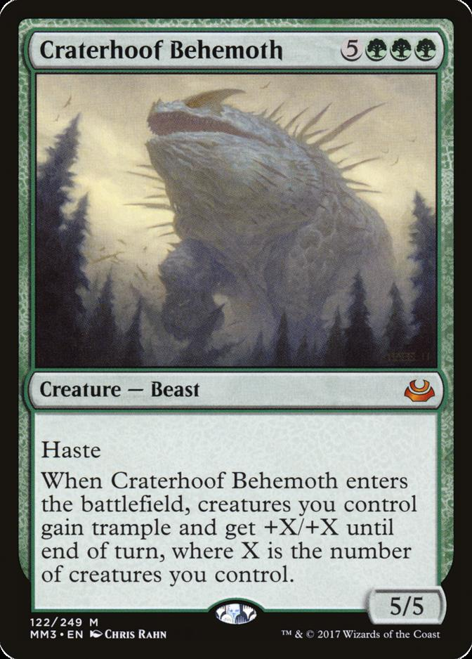Craterhoof Behemoth [MM3]