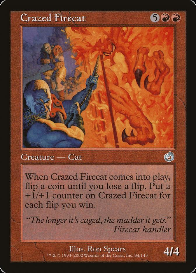 Crazed Firecat [TOR]