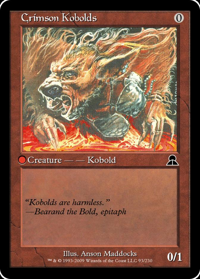 Crimson Kobolds [ME3]