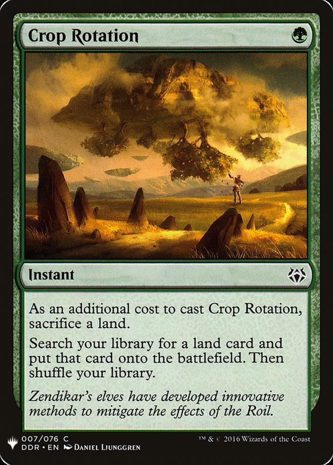 Crop Rotation [MB1]