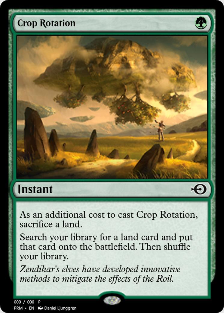 Crop Rotation [PRM] (F)