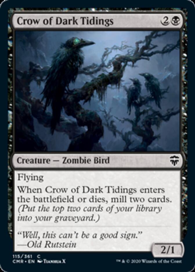 Crow of Dark Tidings [CMR]