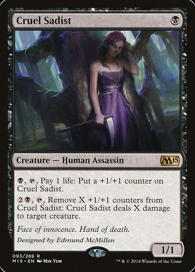 Cruel Sadist [M15]