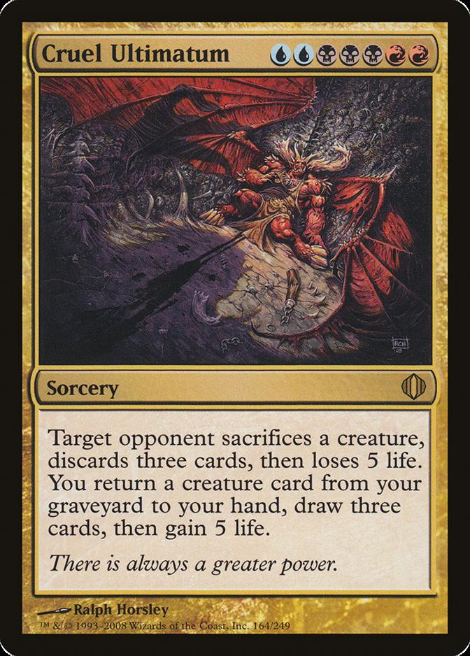 Cruel Ultimatum [ALA]