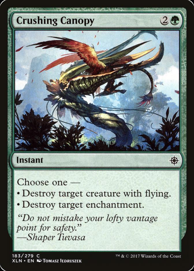 Crushing Canopy [XLN]