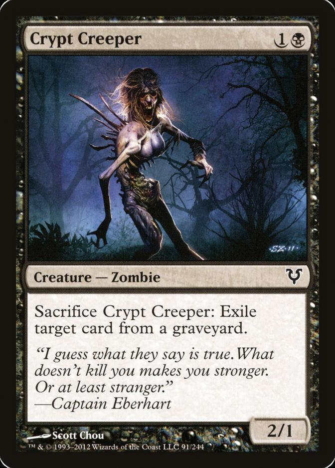 Crypt Creeper [AVR] (F)