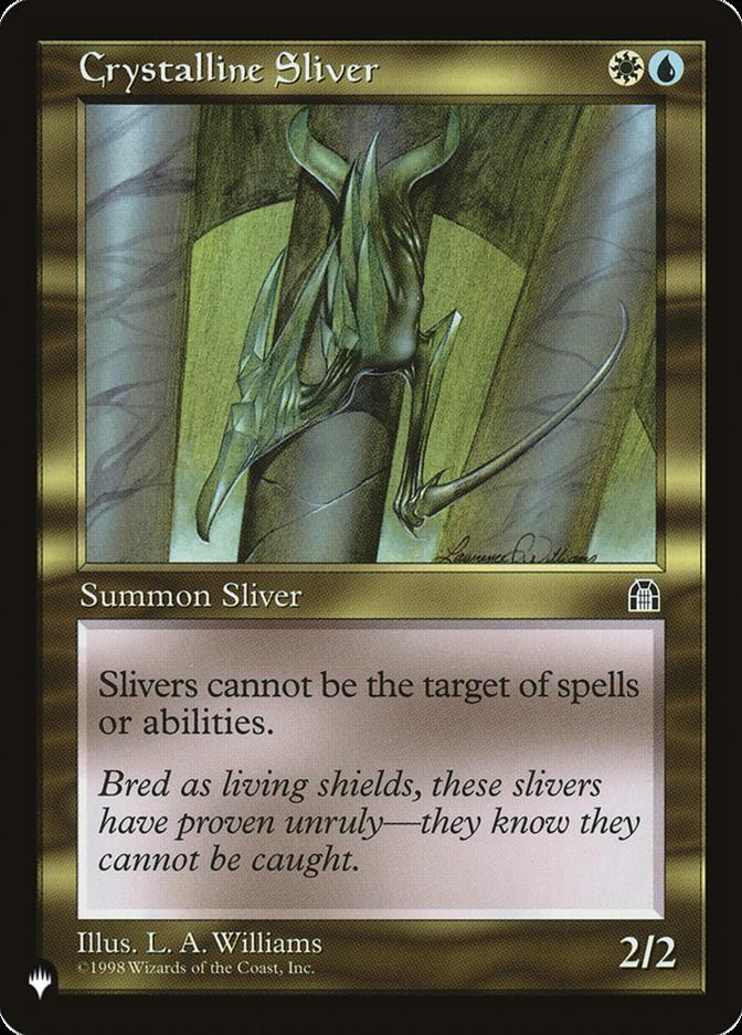Crystalline Sliver [PLIST]