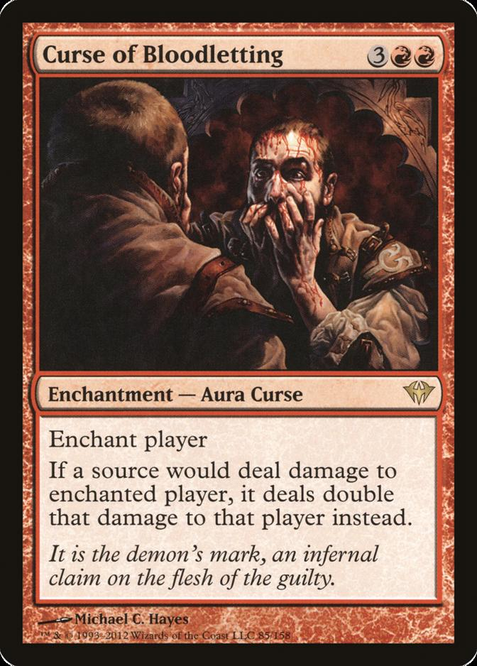 Curse of Bloodletting [DKA]