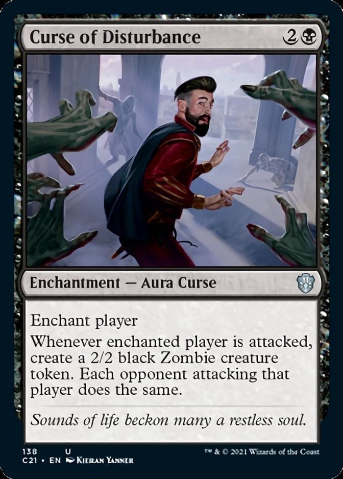 Curse of Disturbance [C21]