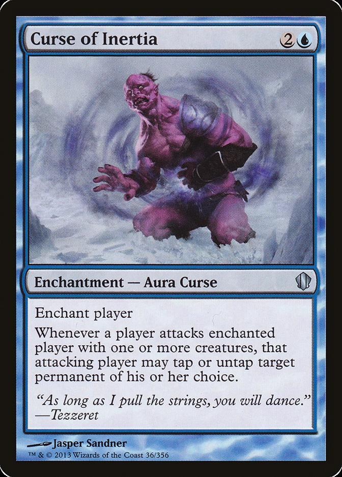 Curse of Inertia [C13]