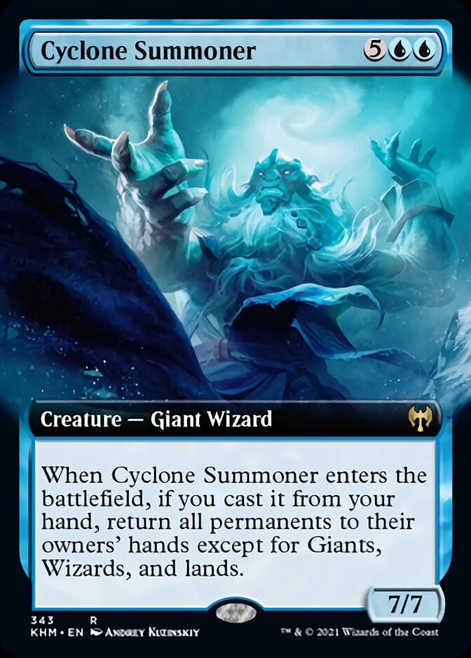 Cyclone Summoner <extended> [KHM]