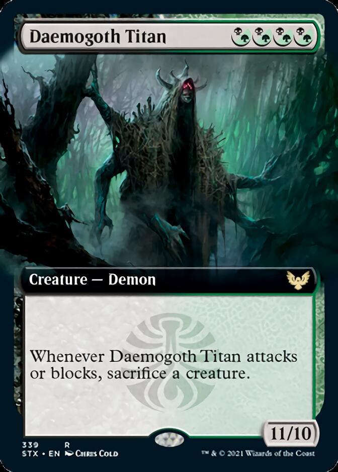 Daemogoth Titan <extended> [STX]