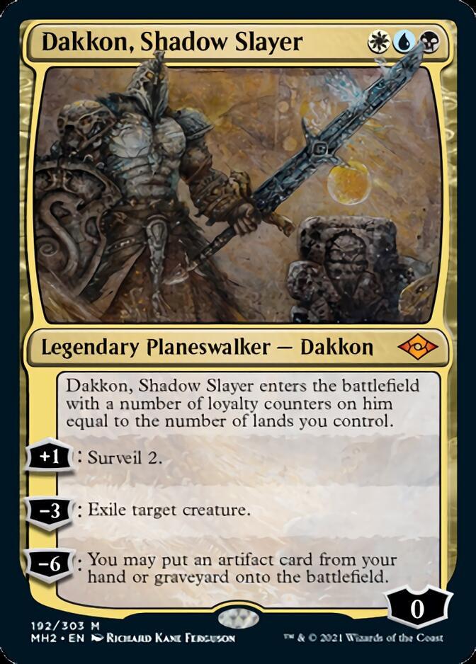 Dakkon, Shadow Slayer [MH2]