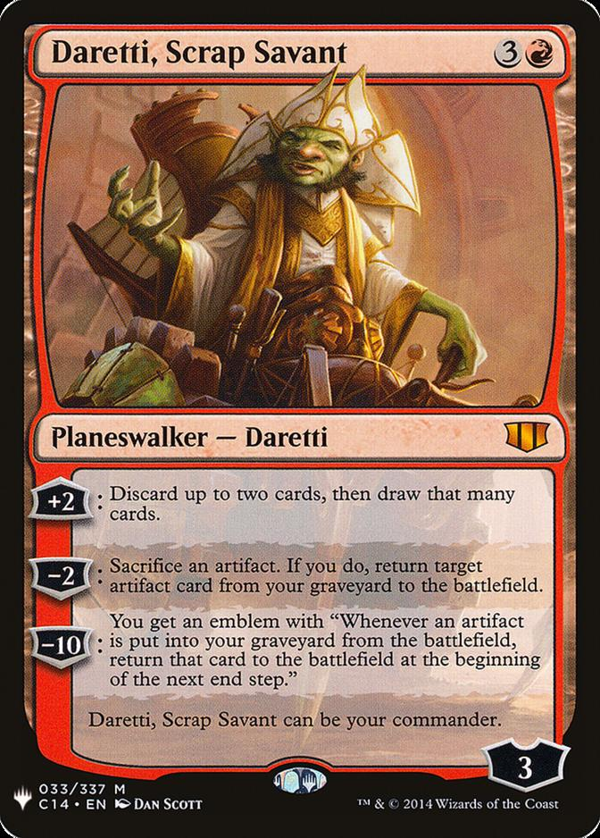 Daretti, Scrap Savant [MB1]