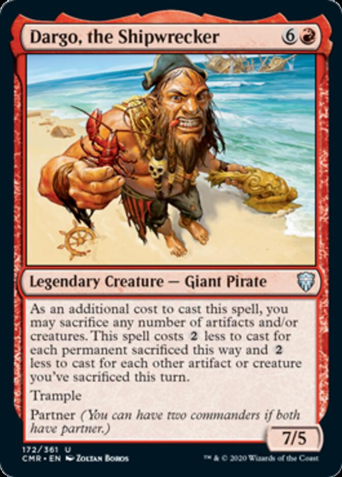 Dargo, the Shipwrecker [CMR]