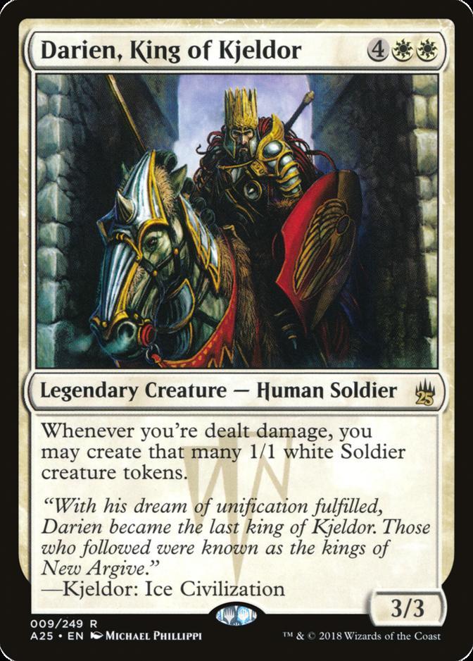 Darien, King of Kjeldor [A25]