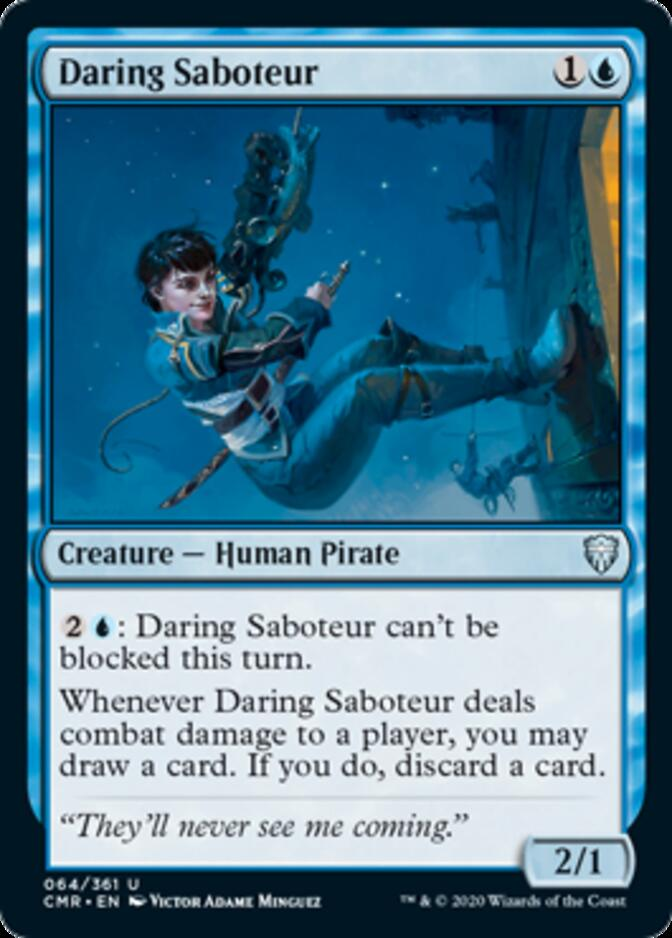 Daring Saboteur [CMR]