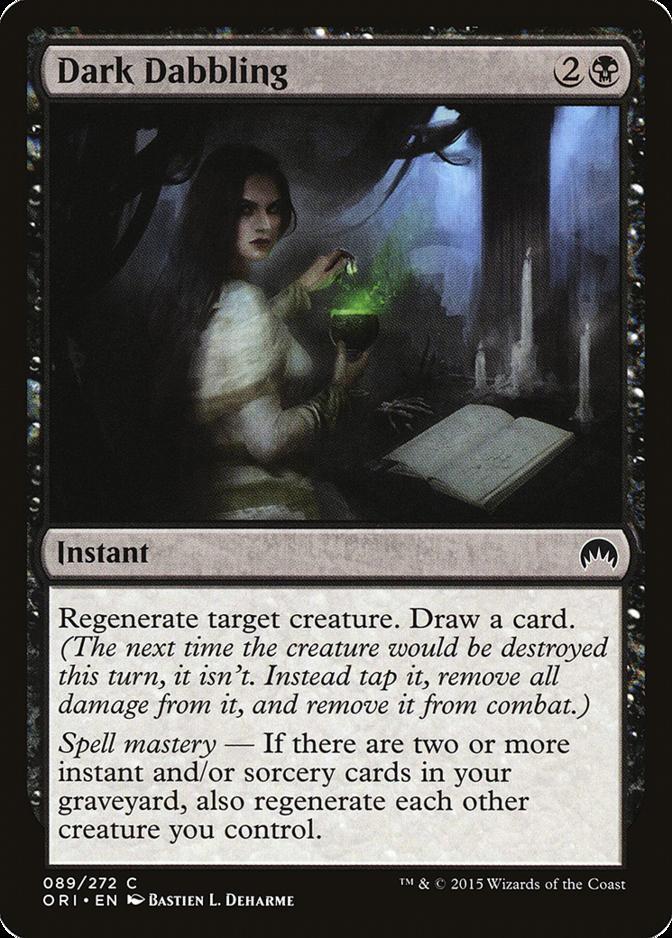 Dark Dabbling [ORI]