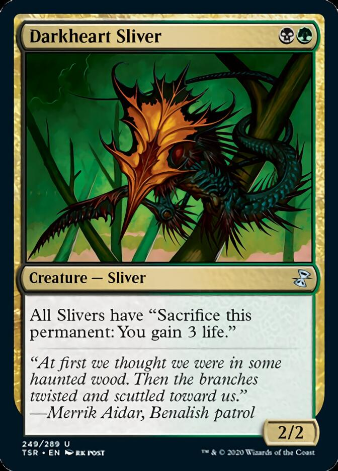 Darkheart Sliver [TSR]