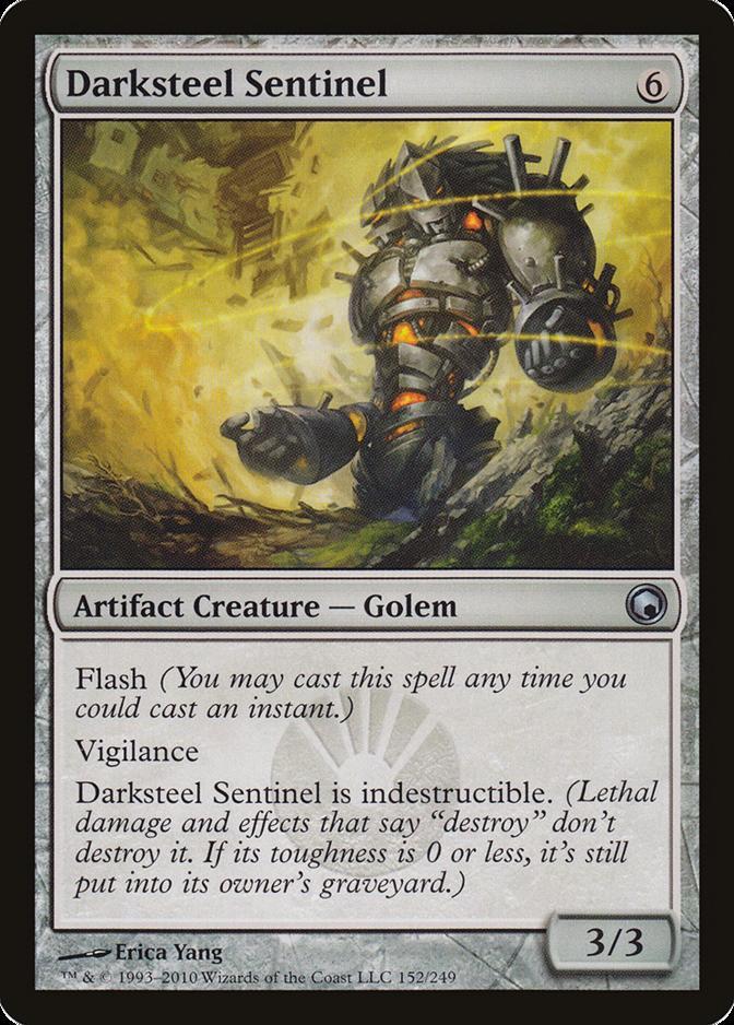 Darksteel Sentinel [SOM]