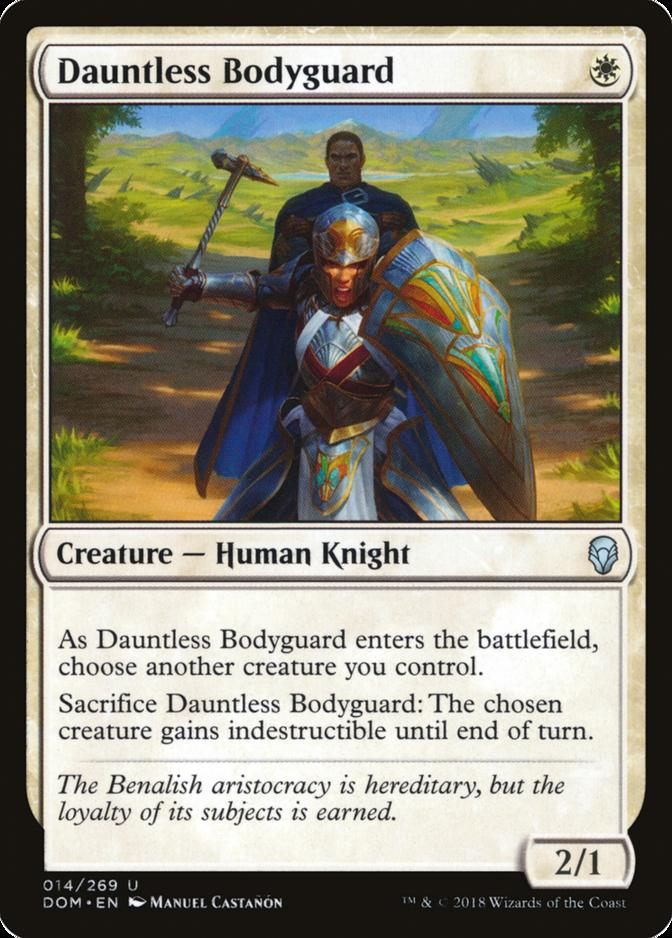 Dauntless Bodyguard [DOM]