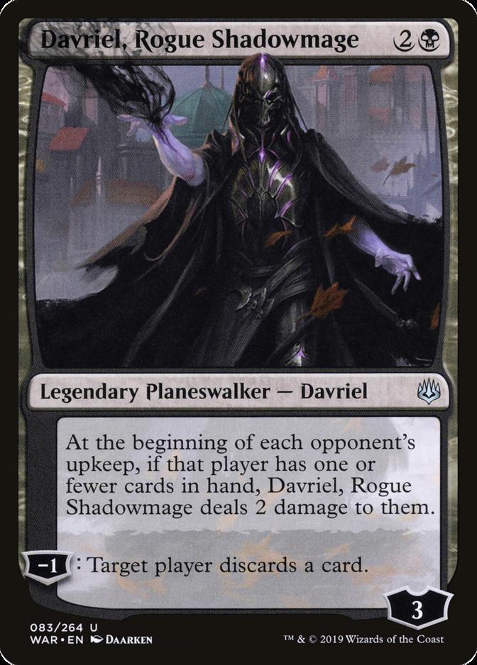 Davriel, Rogue Shadowmage [WAR]