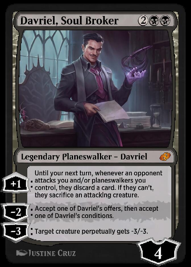 Davriel, Soul Broker [J21]