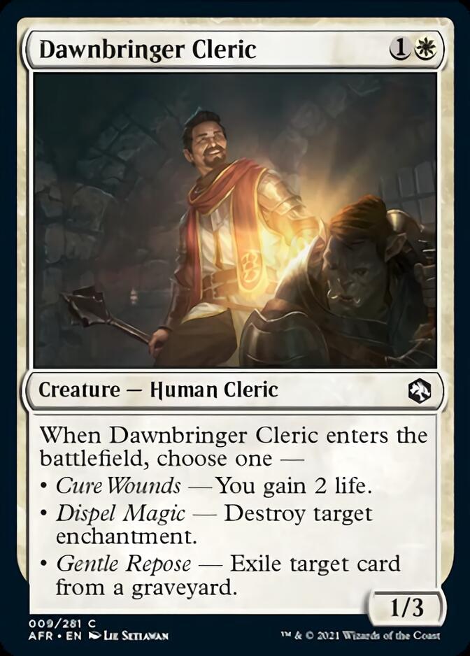 Dawnbringer Cleric [AFR]