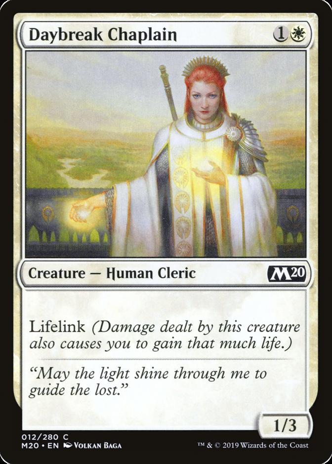 Daybreak Chaplain [M20]