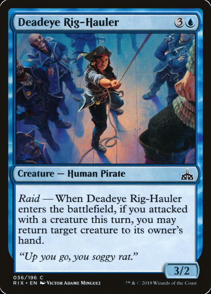 Deadeye Rig-Hauler [RIX]