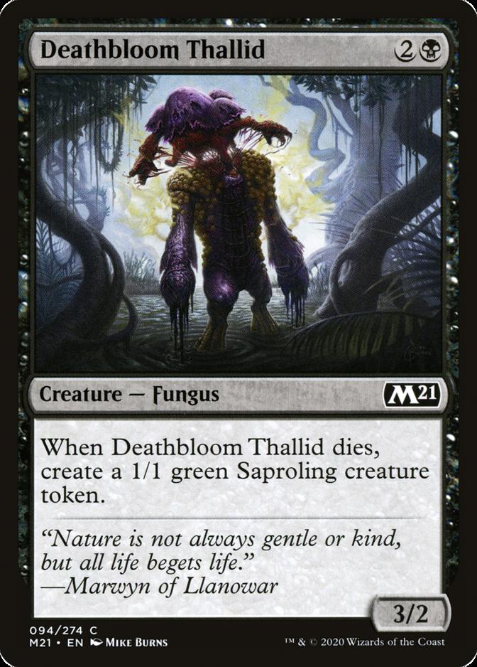 Deathbloom Thallid [M21]